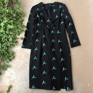 Dresses & Skirts - Monique Lagarde Happy Alligator Crocodile Dress